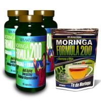 Moringa Formula 200 Capsules plus Tea